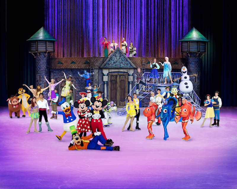 DISNEY ON ICE 2020 PERSONAJES